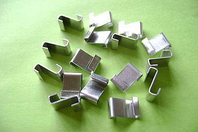 Greenhouse Glazing Polished Aluminum Z Clips Choose From 20 To 500