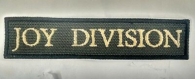Joy Division Embroidered Patch iron on The Cure New Order The Smiths