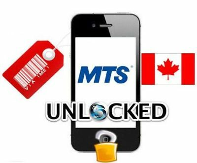 FACTORY UNLOCK SERVICE MTS CANADA IPhone 4s 5 5s 6 SE 6s 7 8 X Xs Xr CLEAN IMEIs