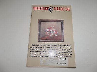 Miniature Collector Doll Dollhouse Magazine June 1978