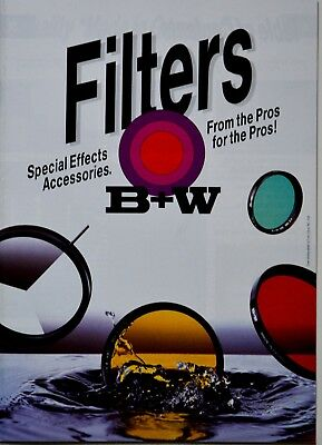 B+W Filters Brochure - 52 Pages