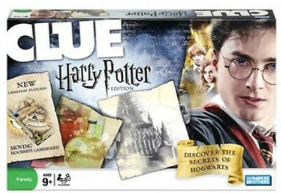 Clue Harry Potter Edition Board Game by Parker Brothers 2008 (free shipping)