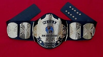 Wwf Winged Eagle Full Gold Belt In 2Mm Brass Plates And Top Quality Gold Plated