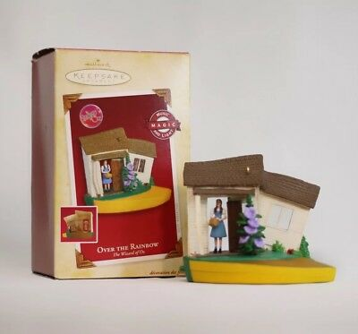 2005 HALLMARK Keepsake Ornament Over the Rainbow The Wizard of Oz New