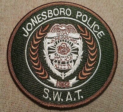 AR Jonesboro Arkansas SWAT Police Patch