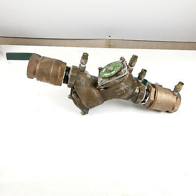 WATTS 2 in DC Backflow Preventer no 709 175 PSI 140 Degre F 2 600 WOG