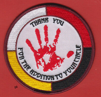 American Indian Movement Aim Thank You For The Addition To Your Circle  Patch