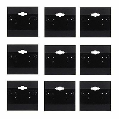 Black Earring Display Hang Flocked Cards Jewelry Cards Organizer BULK LOT