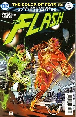 Flash #23. Vol5. DC Jul 2017. Color of Fear. Running Scared. NM