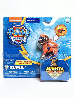 Nickelodeon Paw Patrol Mighty Pups Zuma Light-up Figure & Badge Exclusive