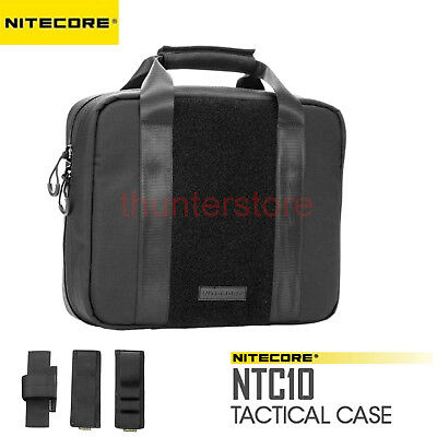 Nitecore NTC10 Nylon Fabric High Strength Light Weight Tactical Case Pouch Molle