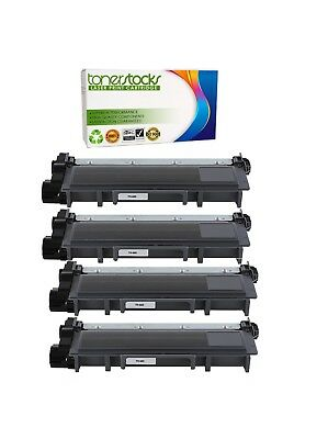 4PK High-Yield TN660 Toner Compatible TN630 For Brother DCP-L2540DW Black