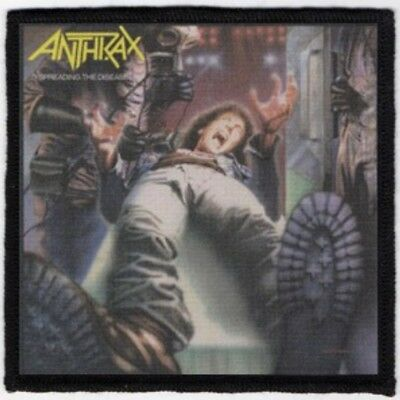 Anthrax Spreading The Disease Printed Patch A031P Slayer Metallica