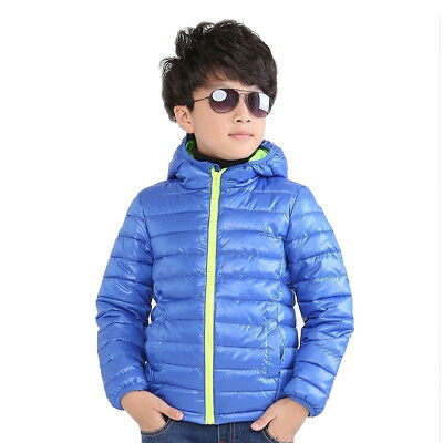 Kids Boy Girl Jacket Waterproof Windproof Thicken Autumn Winter Outerwear Coat