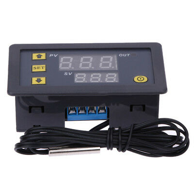 12V/24V/220V LCD Digital Thermostat Temperature Controller Meter -50~1200°C Hot