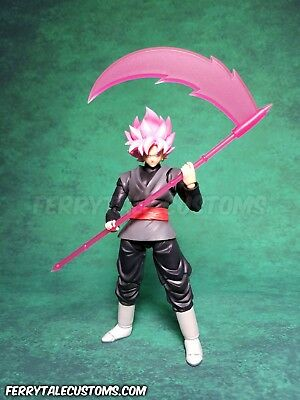 S.H.Figuarts Dragon Ball Super Goku Black Custom Scythe Weapon Ferrytale Customs
