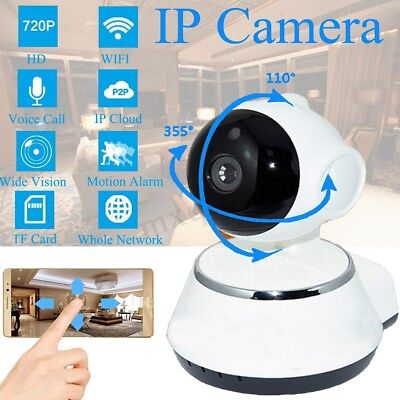 1080P HD Wireless IP Camera Home Security Baby Monitor CAM Smart WiFi Pan Tilt