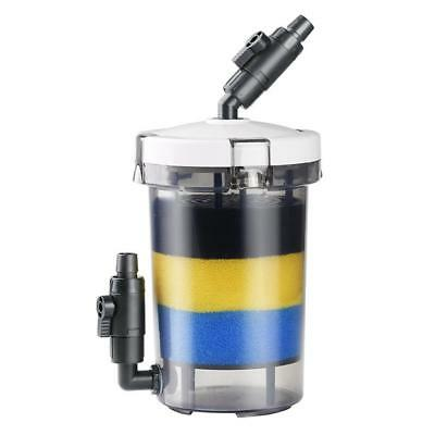 Fish Tank Front Canister Filter Aquarium Filtration Pump LW-602 Water Protection