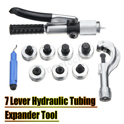 CT-300A Hydraulic Tube Expander 7-Lever Tubing Expanding Tool Swaging Tools Kit