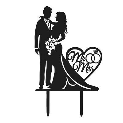 Wedding Cake Topper Wedding Cake Inserted Card Party Refinement cake decora A1V3