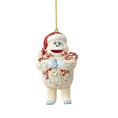 Jim Shore Red Nosed Reindeer 2018 BUMBLE HOLDING CANDY CANES ORNAMENT 6001597