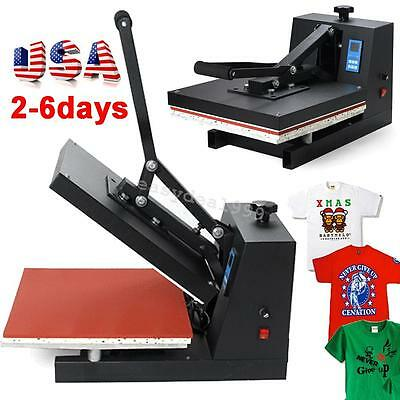 USA Transfer Sublimation T-Shirt Cloth High Pressure Heat Press Printing Machine