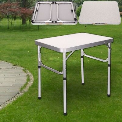 2FT Heavy Duty Portable Folding Outdoor Camping Picnic Kitchen Table Lightweight