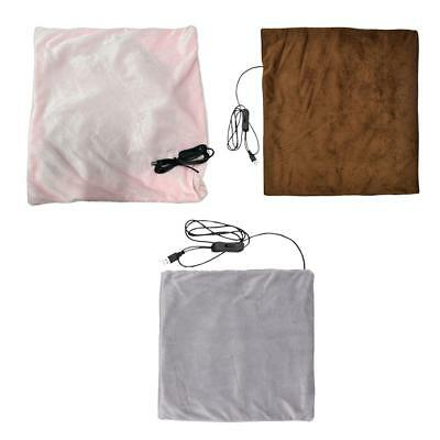 Electric Blanket Heated Sunbeam Quilted Warm Winter Bed Soft Fabric Comfortable