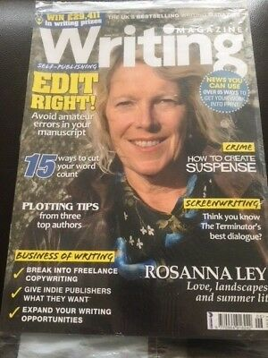 Writing Magazine June 2015 Rosanna Ley Screenwriting Self Publishing Suspense