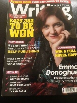 Writing Magazine April 2015 Emma Donoghue Self Publishing Rules of writing