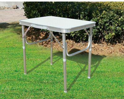 Small Folding Portable Aluminum Table Hight Adjustable Camping Picnic Party Work