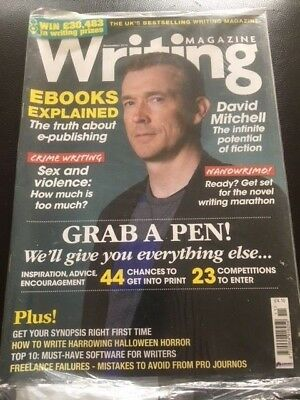 Writing Magazine November 2015 David Mitchell Ebooks Explained Crime Writing