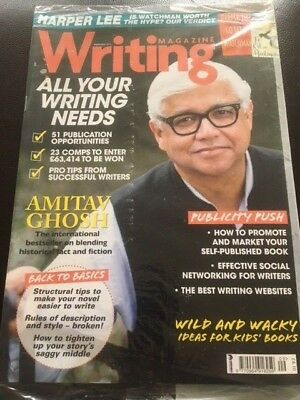 Writing Magazine September 2015 Amity Ghosh Wild and Wacky Kids Publishing Deals