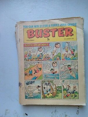 Buster Comics 16 Issues 1971 To 1974