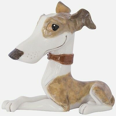 Arora Little Paws Twiggy Whippet Greyhound Figurine Ornament Dog Lovers Gift