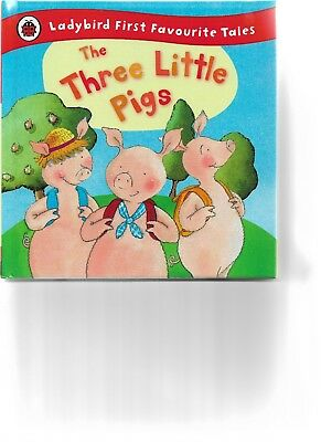 Ladybird first favourite tales The three little pigs story book