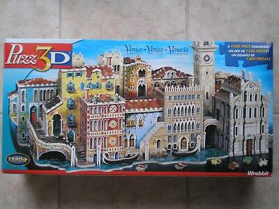 WREBBIT Venice 3D foam-backed puzzle, puzz3D, 1580 pieces