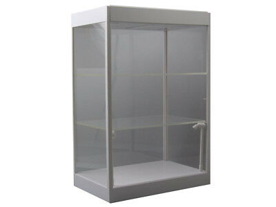 LED Showcase with Two Shelves Display Case T9-69927W