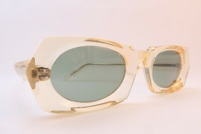 e5d85520adf3 Vintage Traction Production sunglasses 7mm thick acetate made in France