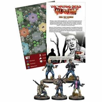 The Walking Dead All Out War Fear the Hunters Expansion