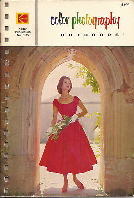 1975 Kodak Publication-Color Photograpy Outdoors