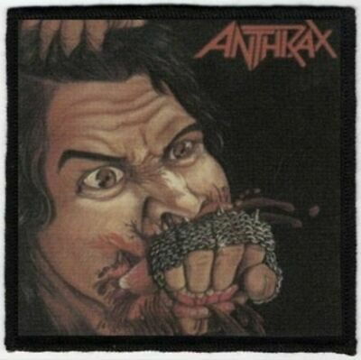 Anthrax Fistful Of Metal Printed Patch A070P UDO Slayer Destruction