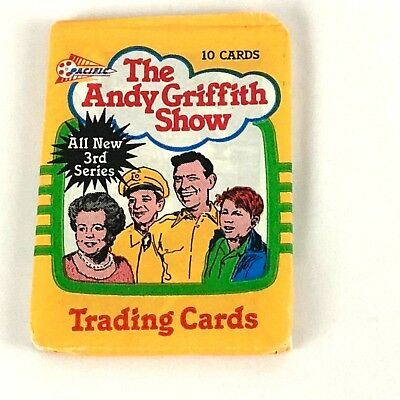 The Andy Griffith Show Trading Cards 10 Cards Per Pack Series 3 Year 1991