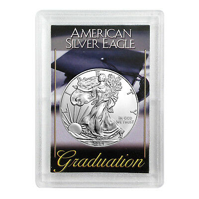 2014 $1 American Silver Eagle HE Harris Holder - Graduation Design