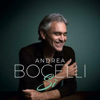 Brand New Sealed Andrea Bocelli Si Cd Free Shipping