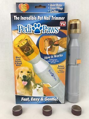 Dogs and Cats Pedi Care Paws Nail Trimmer Grinder Grooming Tool Care Clipper