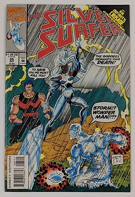 The Silver Surfer #85 Marvel Comic 1993 Infinity Crusade Crossover Wonder Man