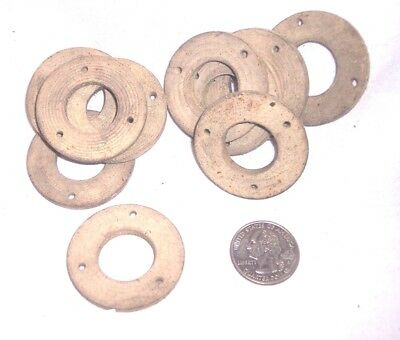 10 Disc Phonograph Rubber Back Gaskets