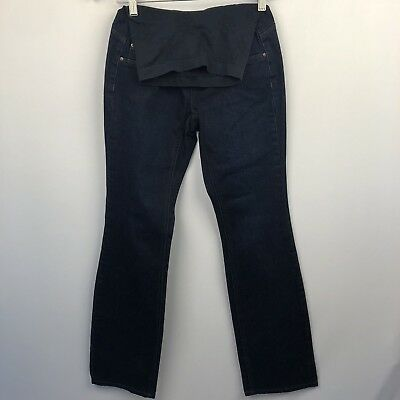 Jessica Simpson Maternity Jeans Size XS Bootcut Dark Wash Secret Fit Belly EUC