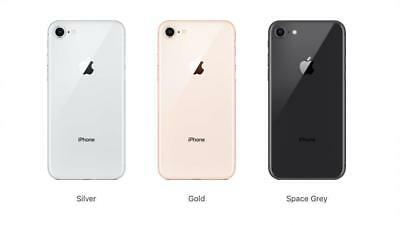 Apple iPhone 8 Software Unlocked GSM SmartPhone 64GB 256Gb AT&T T-mobile